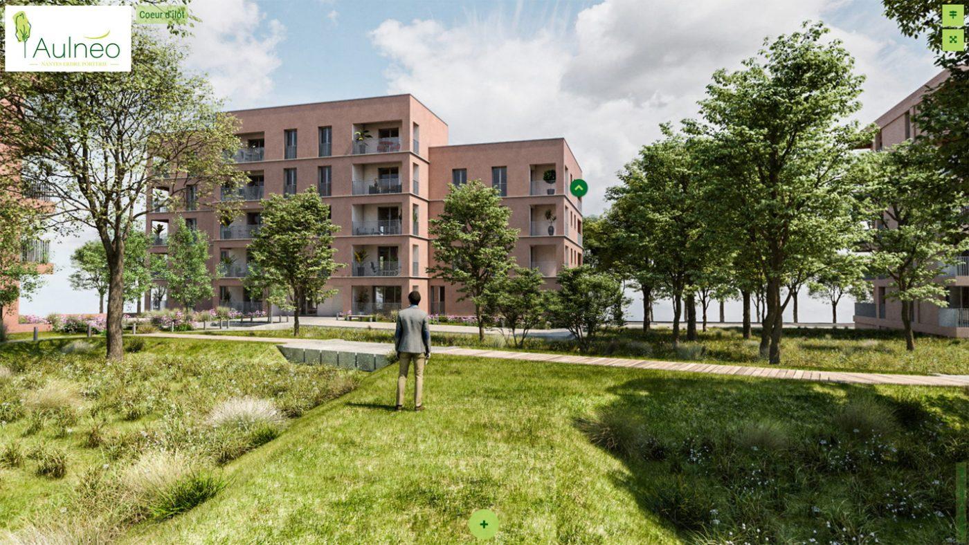 Immertion 3D - Aulnéo - Nantes Erdre Porterie